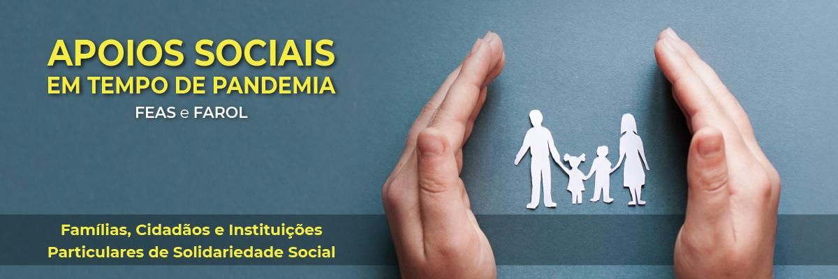 Apoios Sociais em tempo de pandemia