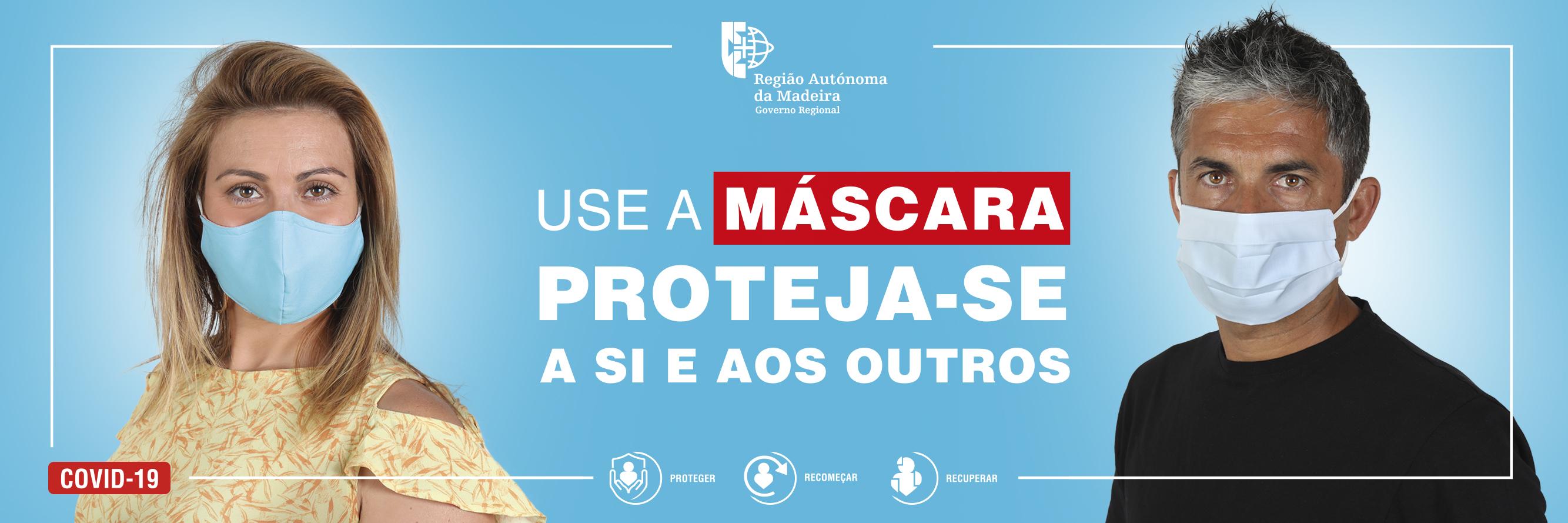 Use máscara de proteção individual