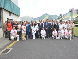 Cavaco Silva visitou CINM, aquicultura e M-ITI no segundo dia da visita à Região