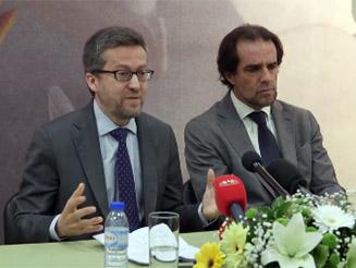 Declarações do Comissário Europeu Carlos Moedas aos jornalistas