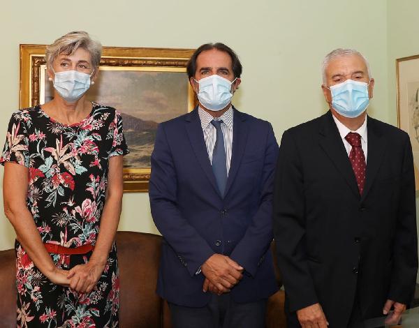 Presidente do Governo recebeu, em audiência, a Embaixadora de Espanha em Portugal