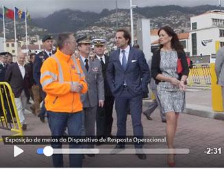 Presidente do GR visitou exposição de meios dos agentes de Proteção Civil