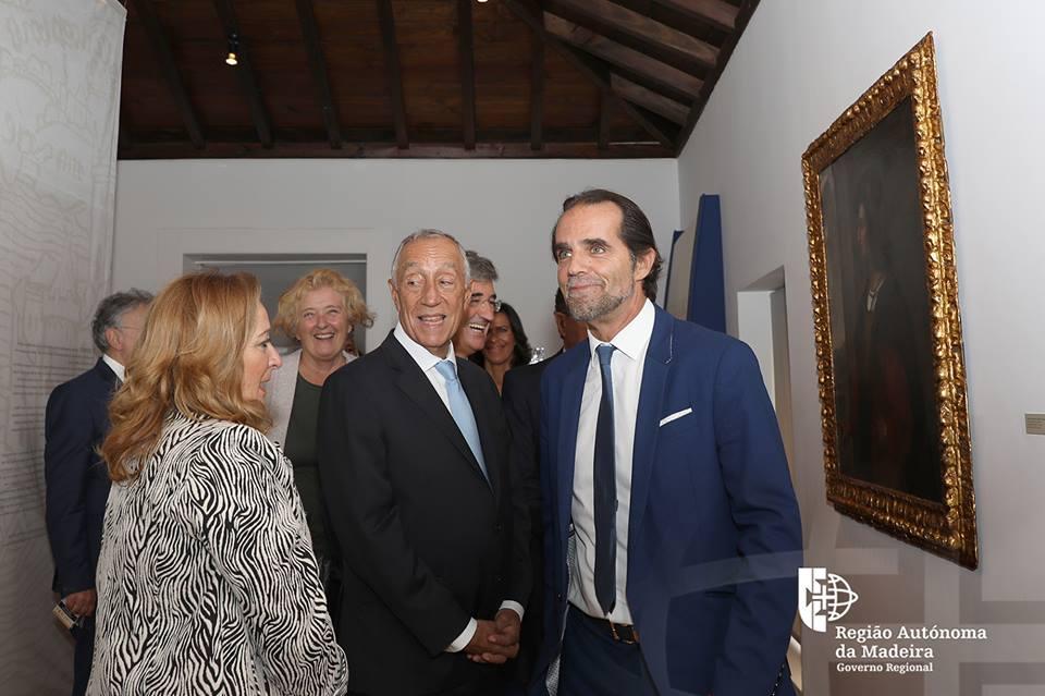 Marcelo visitou Casa Colombo