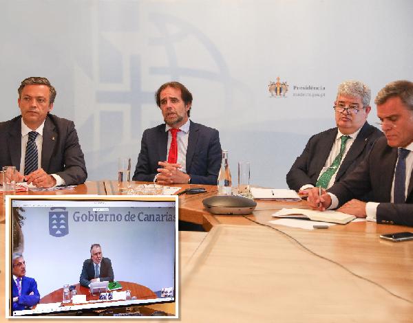 Governos da Madeira e de Canárias convergem na defesa de interesses comuns.