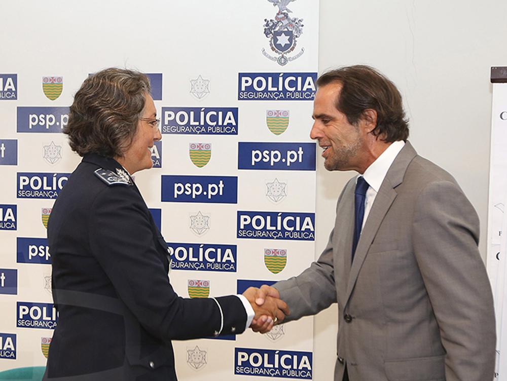 Presidente do Governo agradeceu as forças da autoridade