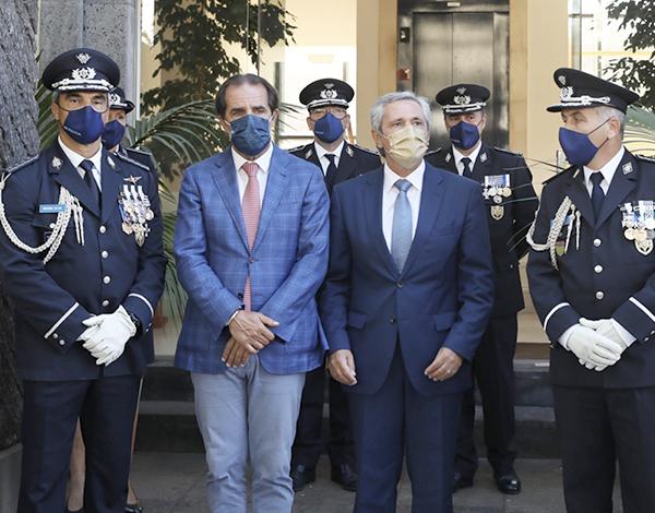Albuquerque agradece à PSP Madeira «o trabalho exemplar e a dedicação»