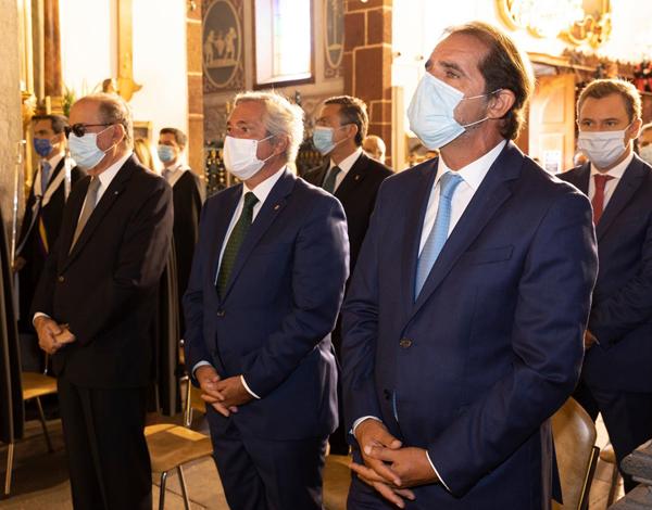 Presidente foi agradecer a Nossa Senhora a Madeira não ter mortes por COVID