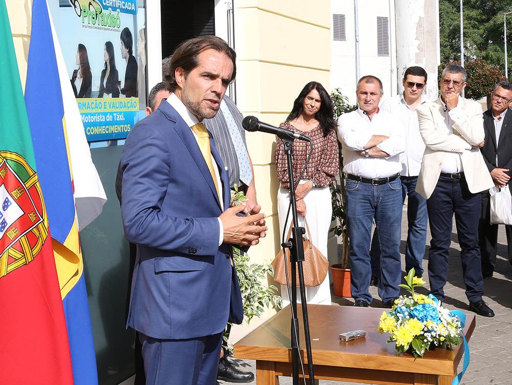 Presidente inaugurou novo espaço de formação da AITRAM