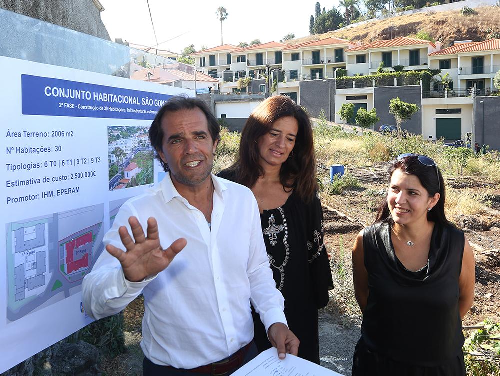 Presidente GR visitou local do futuro bairro de São Gonçalo