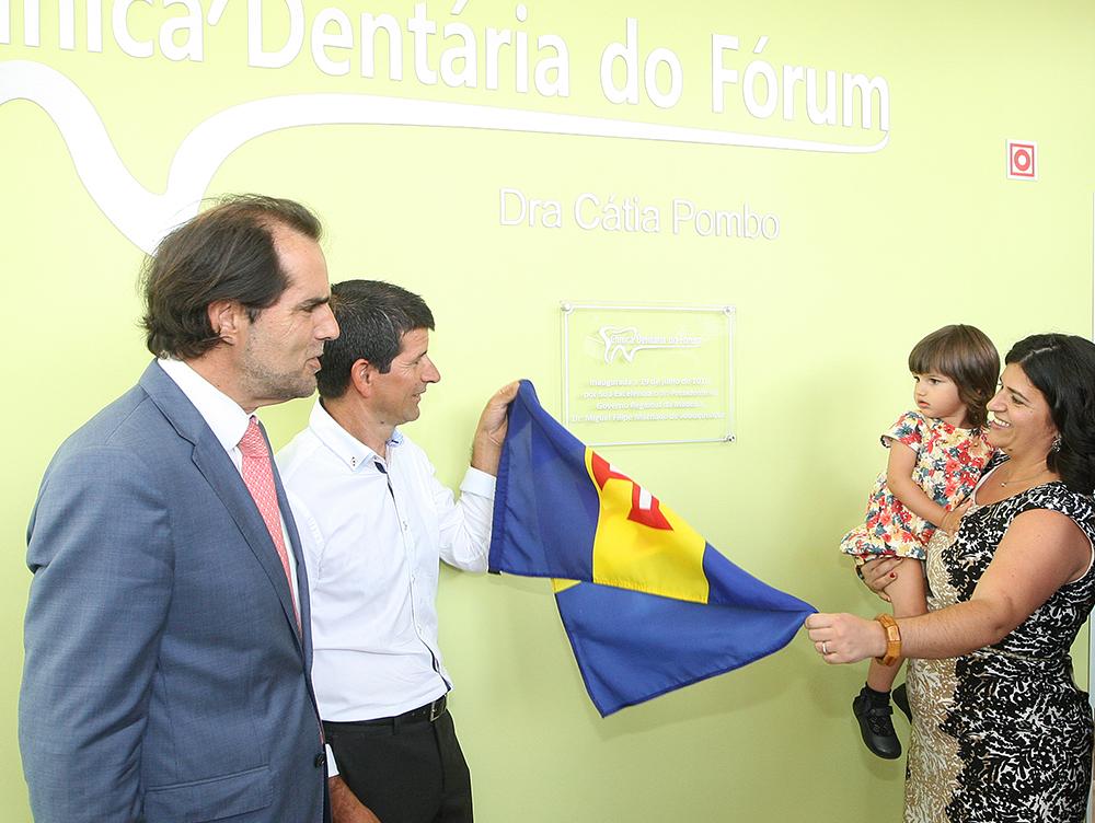 Presidente do Governo Regional da Madeira inaugurou a Clínica Dentária