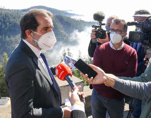 Albuquerque apela à limpeza das florestas