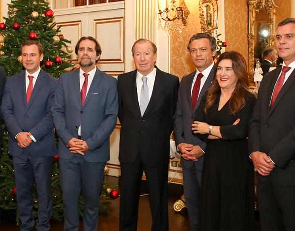 Presidente do Governo apresentou cumprimentos de Natal