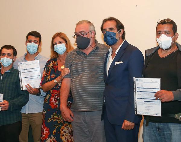 Albuquerque entregou 75 diplomas de formação profissional