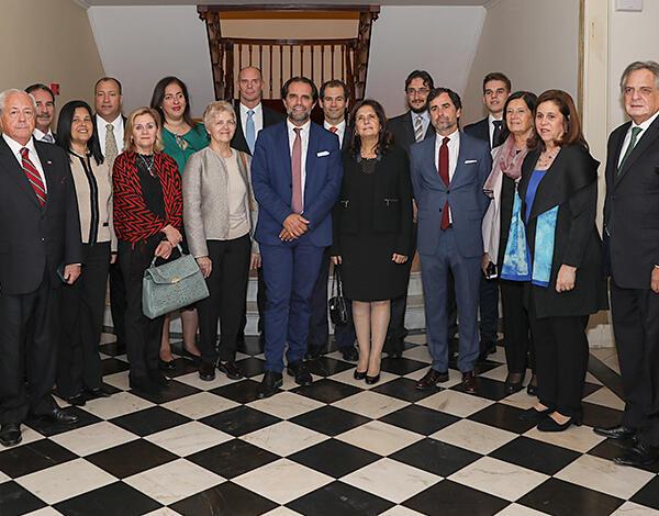 Albuquerque recebeu Embaixadores