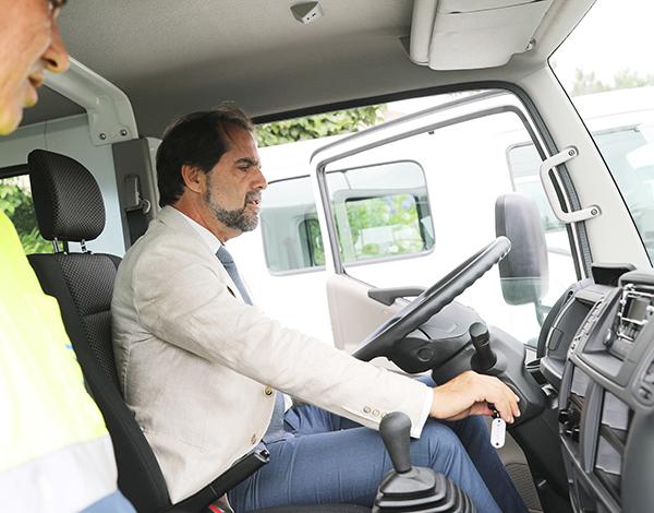 Novos equipamentos vão melhorar manutenção das estradas regionais
