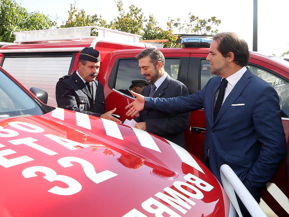 3,6 milhões de euros no reforço de meios de proteção e combate a incêndios