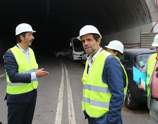 Via de acesso ao Paul e ao Jardim do Mar protegida com recurso aos falsos túneis