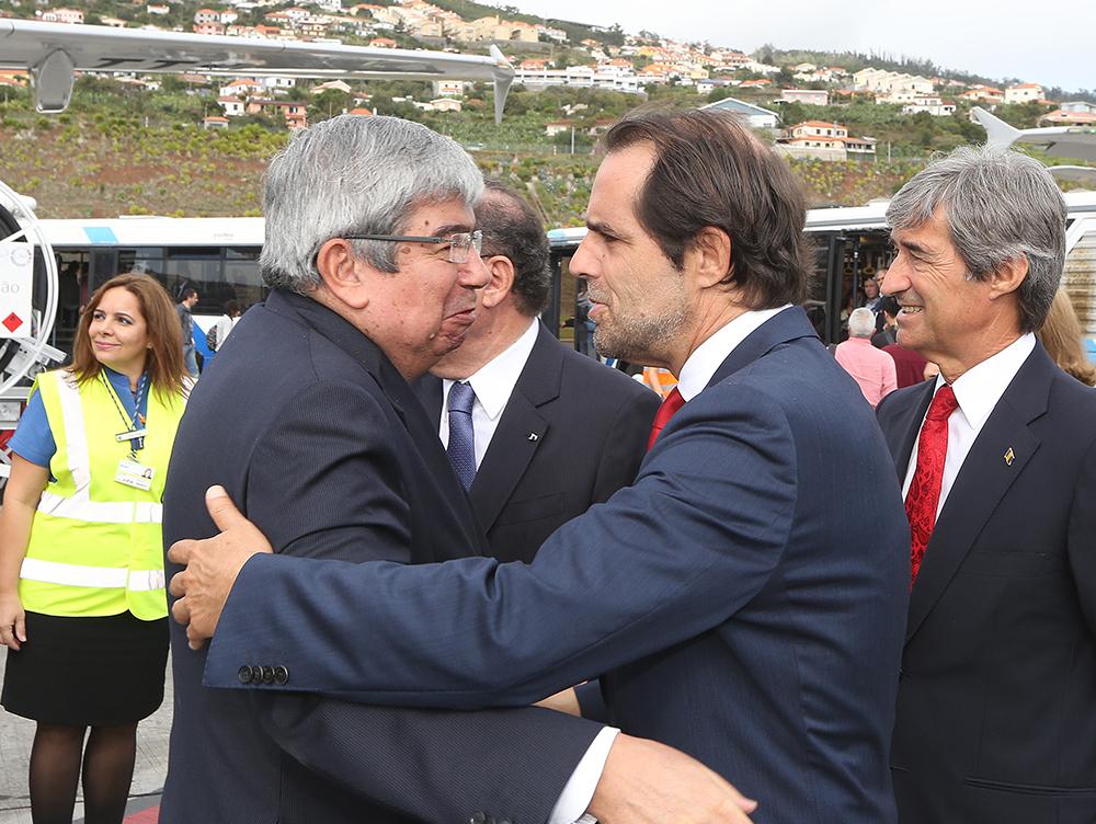Miguel Albuquerque acompanhou Ferro Rodrigues em visita oficial à Madeira