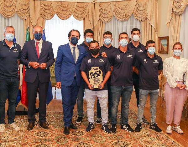 Albuquerque recebeu campeões nacionais de futebol de rua