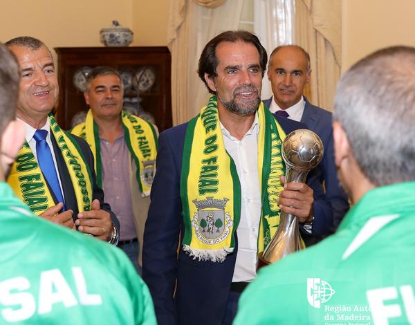 """Futsal de São Roque do Faial: """"uma equipa que tem um palmarés digno de registo"""""""