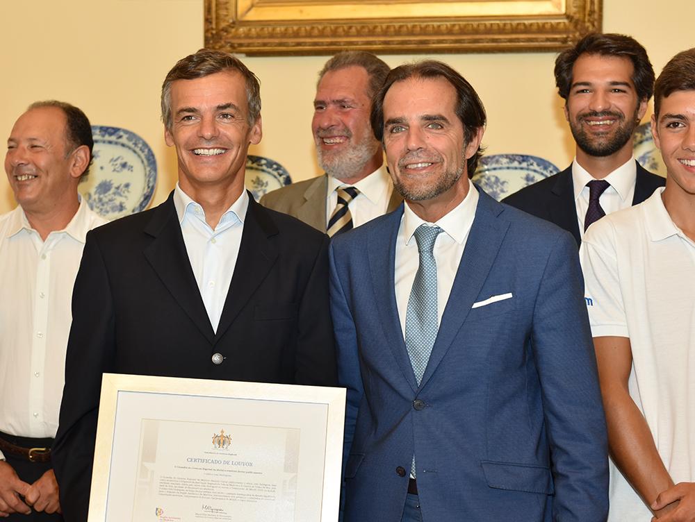 João Rodrigues homenageado