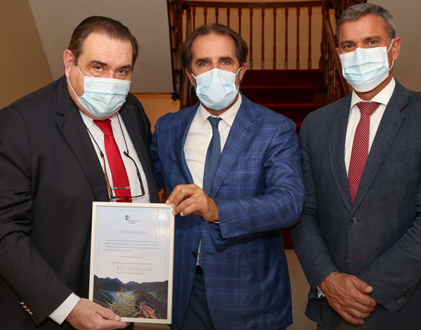Governo homenageia José Manuel Antunes