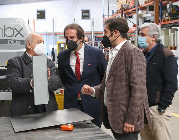 Indutora é exemplo da capacidade instalada e da competitividade das empresas madeirenses.
