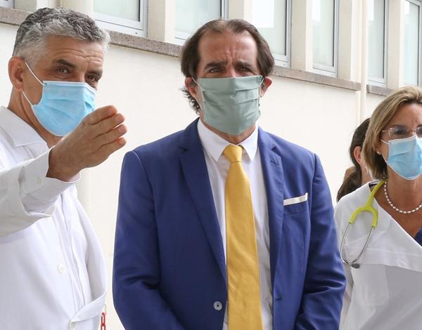 Miguel Albuquerque agradece e enaltece a todos os profissionais de saúde