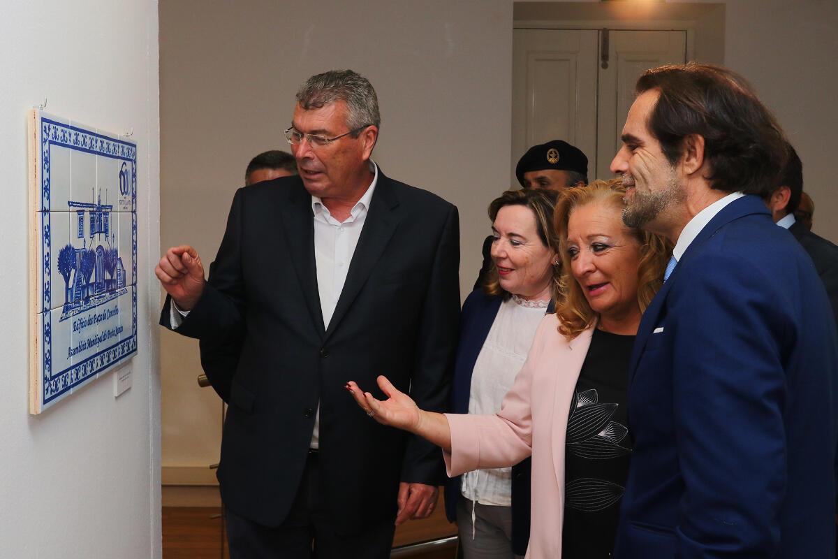 """Exposição de Pinturas de Azulejos """"Vida e Alma Porto-Santense"""""""