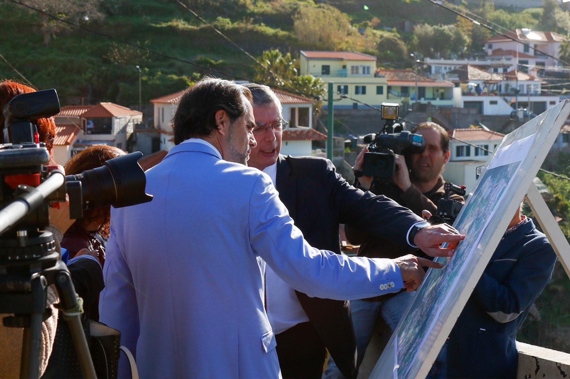 Obras na Cota 500 concluem circunvalação nas zonas altas do Funchal