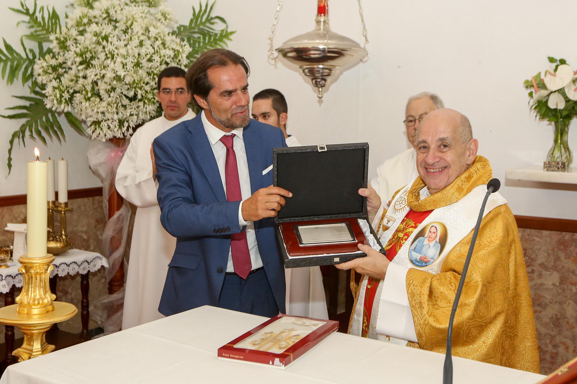 Padre Alexandre Mendonça homenageado