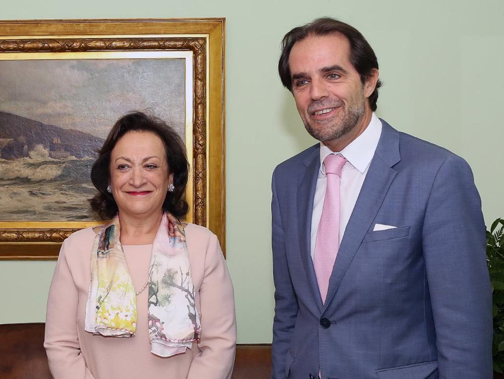 Miguel Albuquerque recebeu a Procuradora Joana Marques Vidal