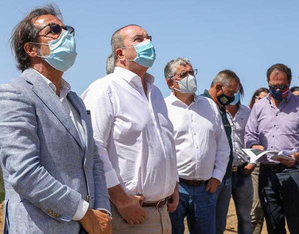 Albuquerque visitou 3º projeto de grande dimensão de prevenção contra incêndios