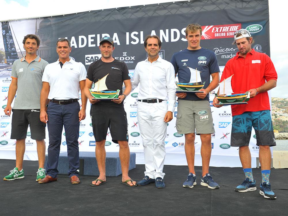 Presidente entregou prémios Extreme Sailing Series