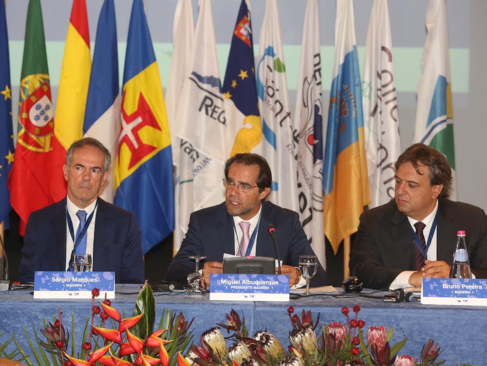 Miguel Albuquerque presidiu a XXI Conferência RUP