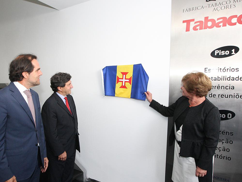Presidente participou nas celebrações do 150º aniversário de Tabaqueira