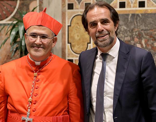 Presidente do Governo na elevação de Tolentino Mendonça a Cardeal de Roma