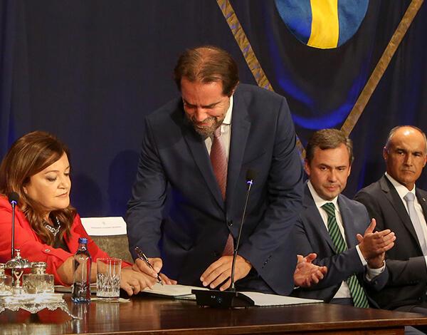Tomada de posse do XIII Governo da Região Autónoma da Madeira