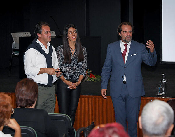 Miguel Albuquerque à conversa com alunos da Universidade Sénior