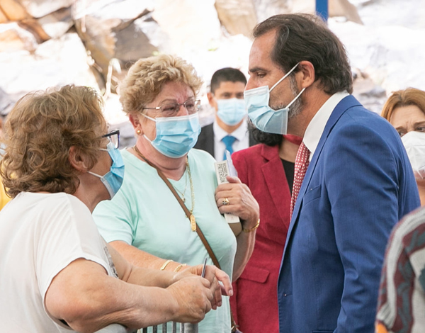 Albuquerque visitou Centro de Vacinação COVID-19 de Santa Cruz