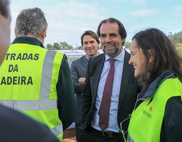 Via expresso para a Ponta do Pargo vai ajudar a desenvolver a freguesia