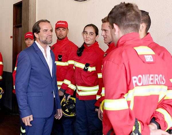 """""""Nunca os bombeiros tiveram formação profissional como agora"""""""