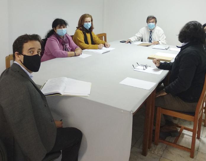 "Meeting with the principal of Escola Básica do 1º Ciclo com Pré-Escolar da Lombada - Ponta do Sol - Conditions of Operation of the School Year in Full-Time Schools"""