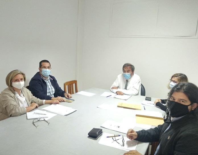 """Meeting with the principal of Escola Básica do 1º Ciclo com Pré-Escolar de São Roque - """"Conditions of Operation of the School Year in Full-Time Schools"""""""
