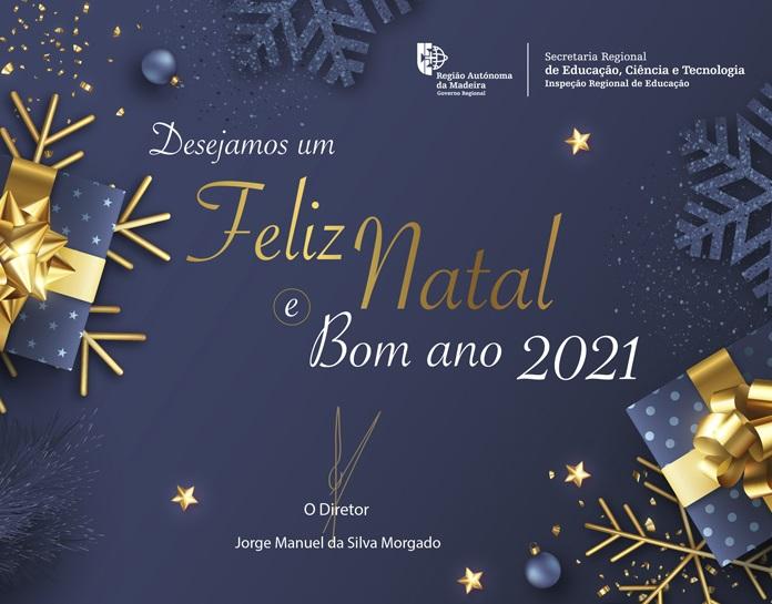 Feliz Natal e um Bom Ano de 2021