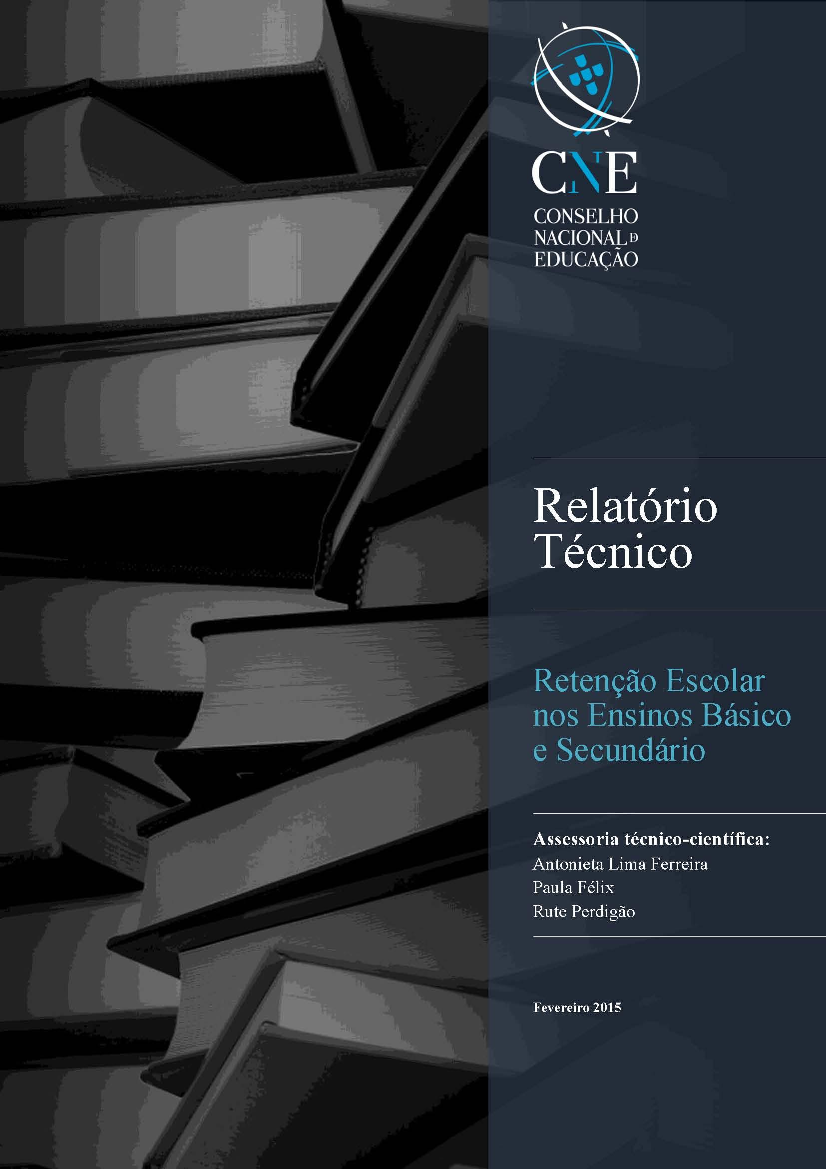 Relatório CNE - Retenção Escolar nos Ensinos Básico e Secundário