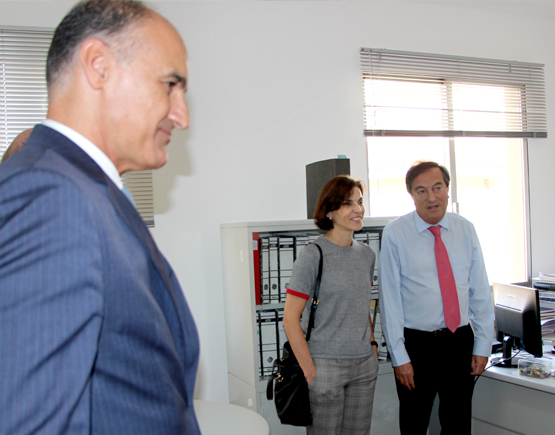 The Regional Secretary of Education visited the new premises