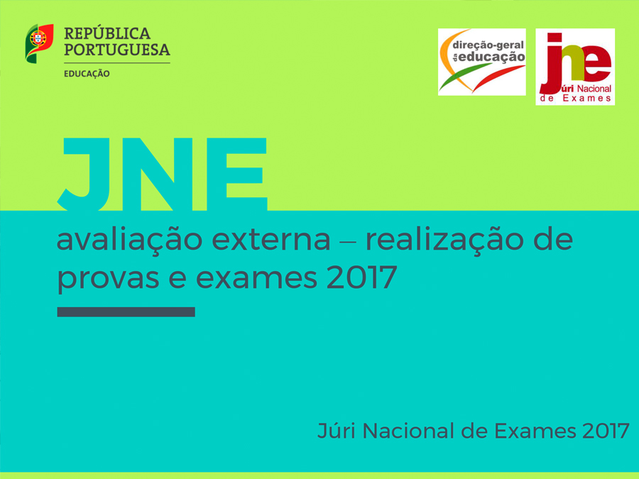 Presentation of the National Jury of Exams in Madeira Island Schools, 2017, lower primary school
