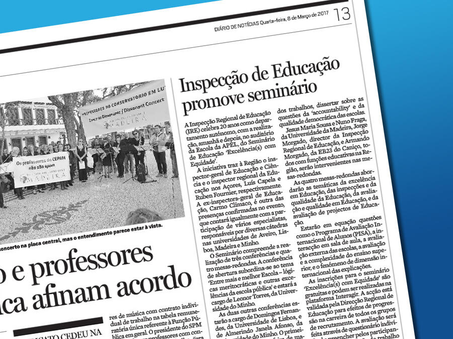 """""""Excellence with Equality"""", 20 years of the Regional Inspectorate of Education"""