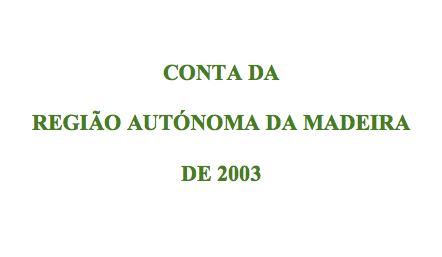 Conta da RAM 2003